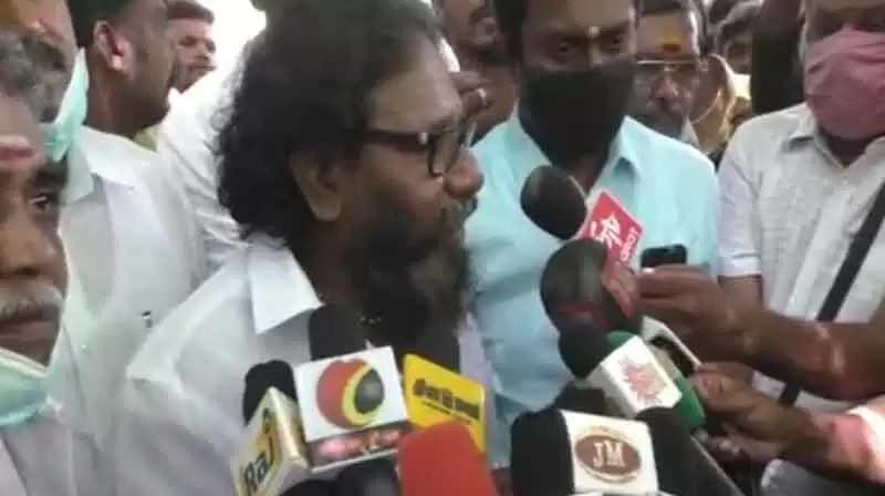 'திமுக' பக்கம் சாய்ந்த கருணாஸ்.. பரபரப்பு கடிதம்!