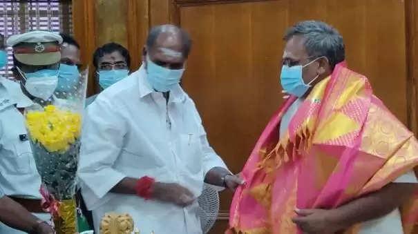 புதுச்சேரி சபாநாயகரானார் பாஜக எம்எல்ஏ செல்வம்!