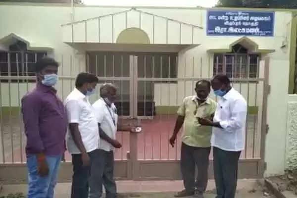 சட்டமன்ற உறுப்பினர் அலுவலகங்கள் பூட்டி  சீல் வைப்பு