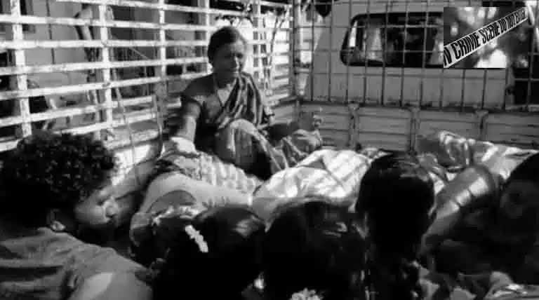 மணமக்கள் சென்ற வேன் விபத்து-4 பேர் உயிரிழந்ததால் திருமணம் நிறுத்தம்